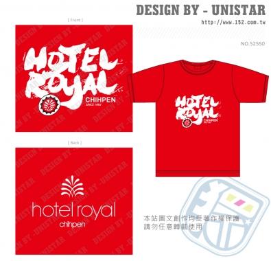 圓領短T,T,紅,旅館,圖形