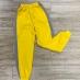 側身配條縮口棉褲