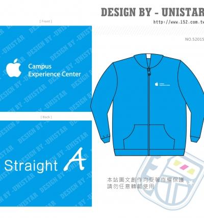 亮藍,文字,經典,外套,Studio A,Apple